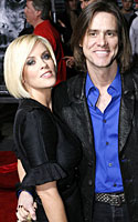 Jim Carrey ir Jenny McCarthy