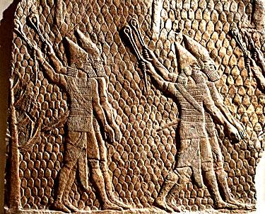 Asirų kareiviai