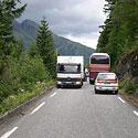 Ekstremalus važiavimas Norvegijos fiordų keliais.