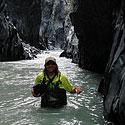 Neįveiktas krioklys, o aplink lava