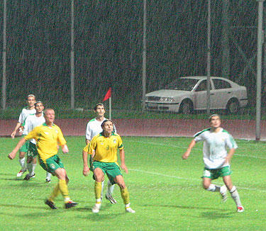 Lietuvos ir Turkmėnijos futbolo rinktinių mačas