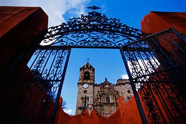 Meksikas, San Cayetano bažnyčia