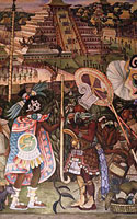 Meksikas, Palacio National, dekoro detalė