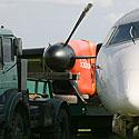 Avariniu būdu nusileidęs lėktuvas