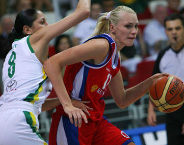 Agnė Čiūdarienė kovoja su Marija Stepanova