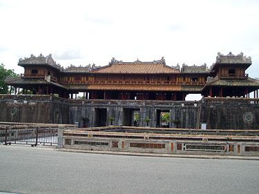 Vietnamas, Hue, Ngo Mon gate