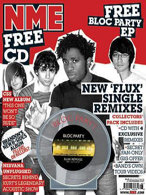 """Žurnalo """"NME"""" viršelis"""