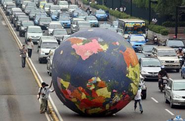 Šiltnamio efektas, klimato kaita, pasaulinis atšilimas