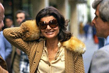 Jacqueline Kennedy-Onassis 1973 m.