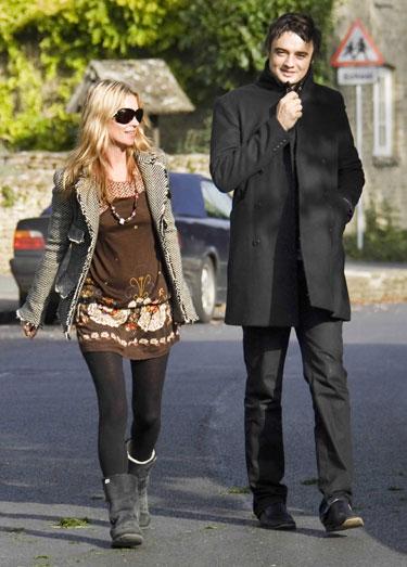 Kate Moss ir Pete Doherty