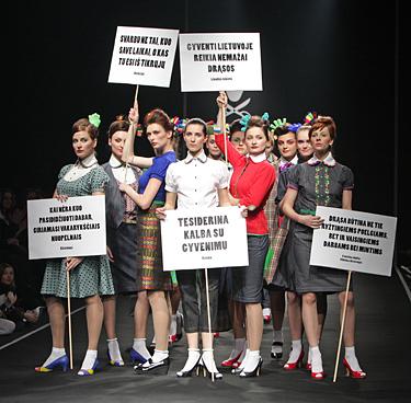 """""""Mados infekcija"""" 2008. Jolanta Rimkutė ir Ieva Ševiakovaitė"""