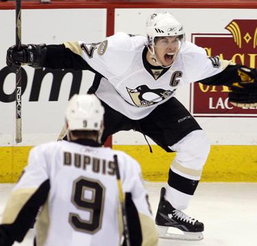 """Sidney Crosby (""""Penguins"""") pergalės šokis"""