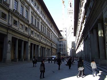 Florencija. Ufiči galerija