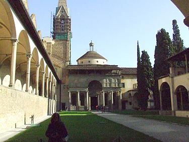 Florencija. Vienuolynas
