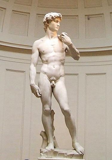 Florencija. Dovydo skulptūra Dailės Akademijos galerijoje