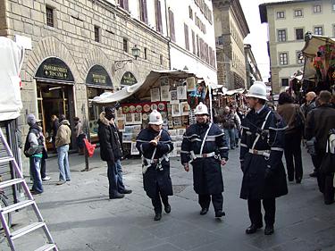 Florencija, policininkai