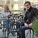 Laura Narbutaitė (iš kairės), Monika Mačiulytė, Laurynas Jankauskas