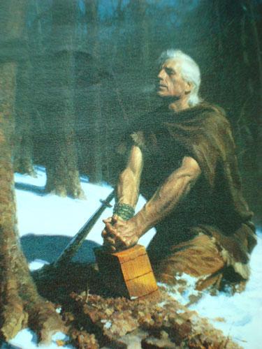 Mormonų knygos iliustracija