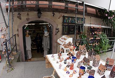 """Strasbūras, """"La petite Lituani"""" parduotuvėlė"""