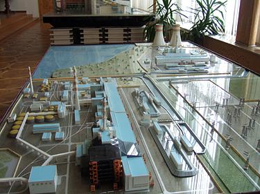 Černobylis, AE maketas