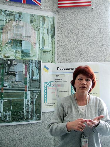 Černobylis, naujo sarkofago projektas