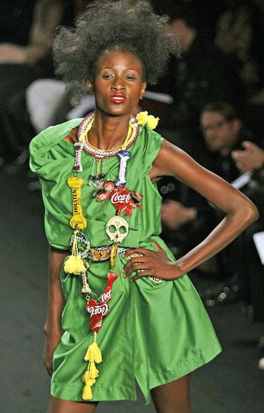 Vivienne Westwood modelis