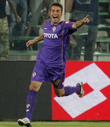 """Adrianas Mutu (""""Fiorentina"""")"""