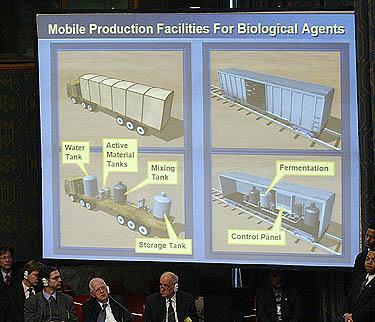 Mobilios Irako  biologinio ginklo gamyklos