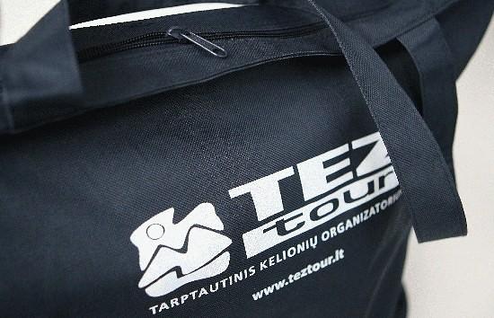 Tez Tour prizas - krepšys