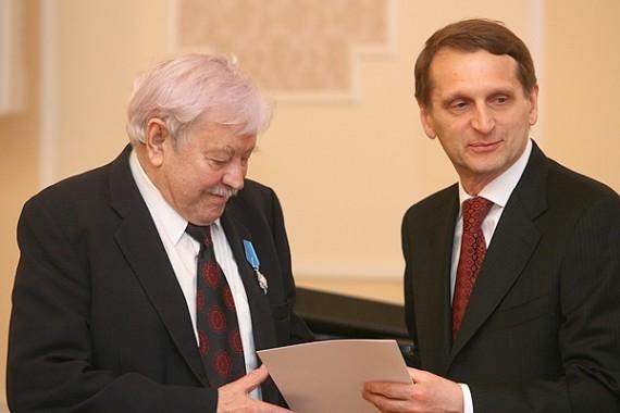 Д.Банионису и С.Сондецкису вручили российские ордена