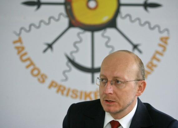 A.Valinskas ir jo šalininkai Seime įkūrė Ąžuolo frakciją