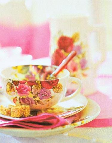 Gėlėtas puodelis