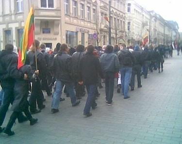 Skinų eitynės Vilniuje