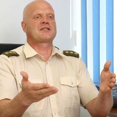 Nuteistas buvęs Karo prievolės administravimo tarnybos Karo prievolės centro teritorinio skyriaus vadovas Rimantas Legis.