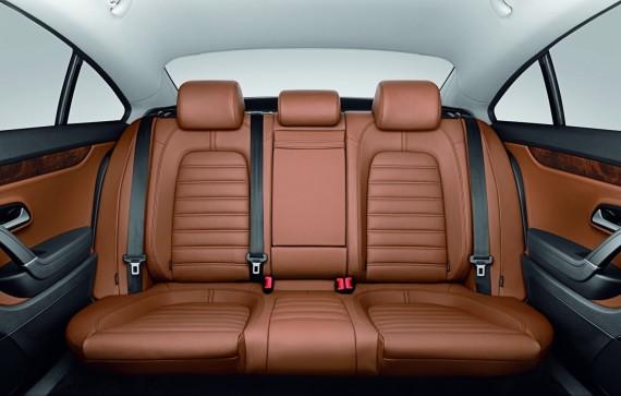 Volkswagen Passat CC trivietė galinė sėdynė