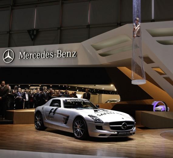 Mercedes-Benz SLS AMG F-1