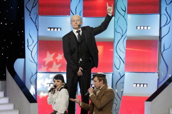 Irūna Puzaraitė, Arūnas Valinskas ir Marius Jampolskis