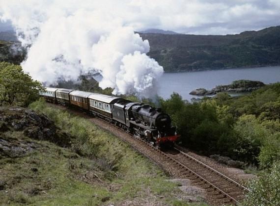 Geležinkelis, Škotija