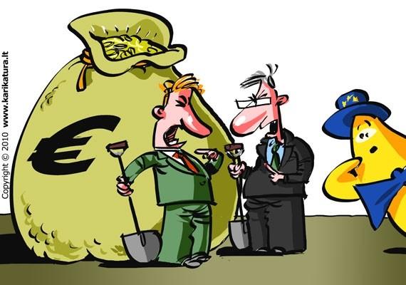 Europiukas biudžeto priežiūros procese. R. Daukanto pieš.