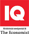 """IQ. The Economist partneris Lietuvoje"""