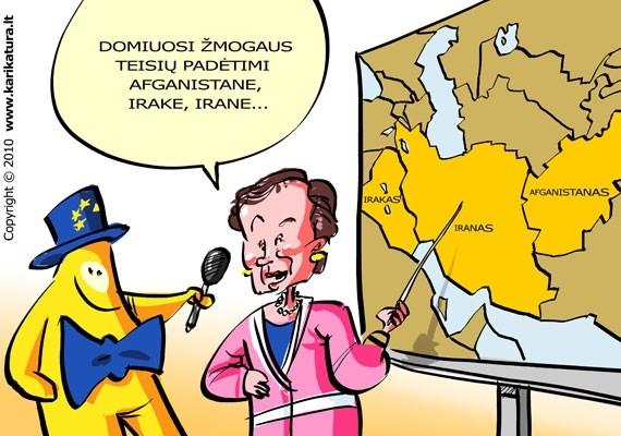 Laima Andrikienė Europiukui pasakoja, ką veikia EP