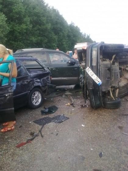 Girtas lietuvis sukėlė avariją Terechovo pasienio kontrolės punkte