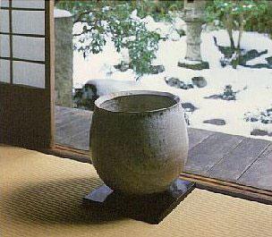 Japoniškas stilius. Vaza