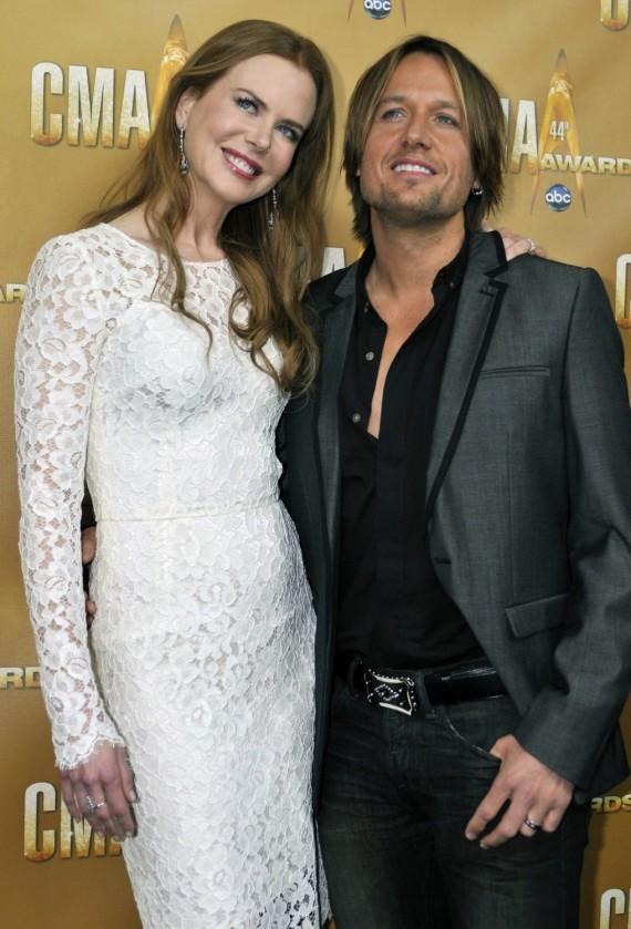 Nicole Kidman ir Keithas Urbanas, 2010