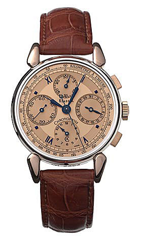 Chronoswiss. Klassick Chronograph Rose Gold