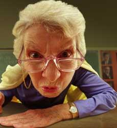 Pikta senelė