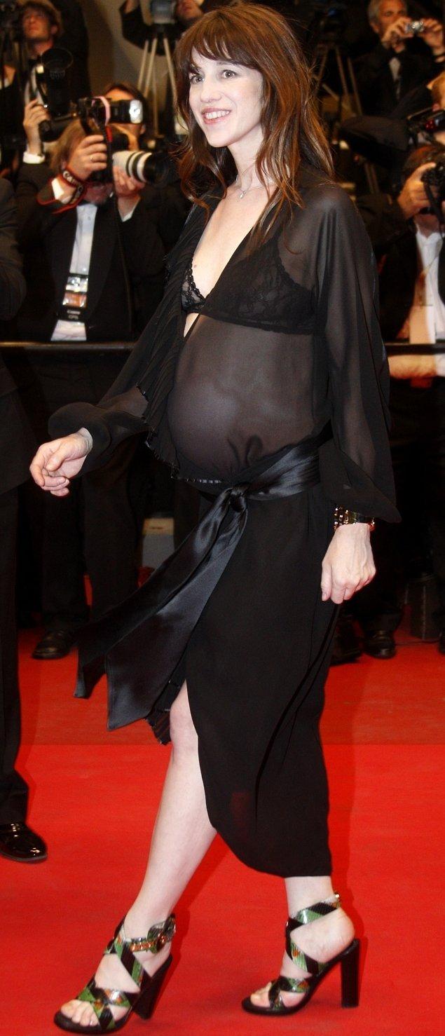 Aktorė Charlotte Gainsbourg.