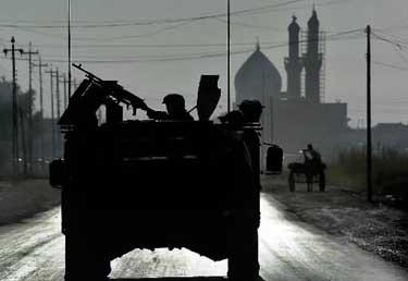 JAV kareiviai Bagdade.