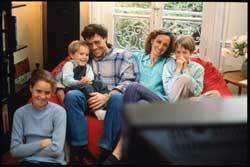Šeima ir televizorius