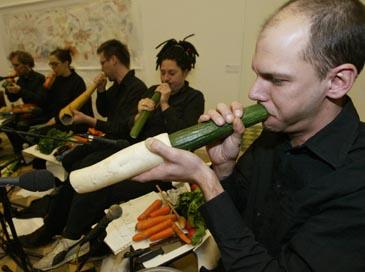 Daržovių muzikantai
